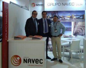 Grupo Navec está presente en Expomin 2018 (Santiago de Chile)