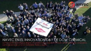 Navec en el Innovation Day de Dow Chemical.