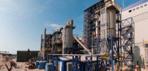 Desulfuración de la central térmica de Mejillones , (2009)