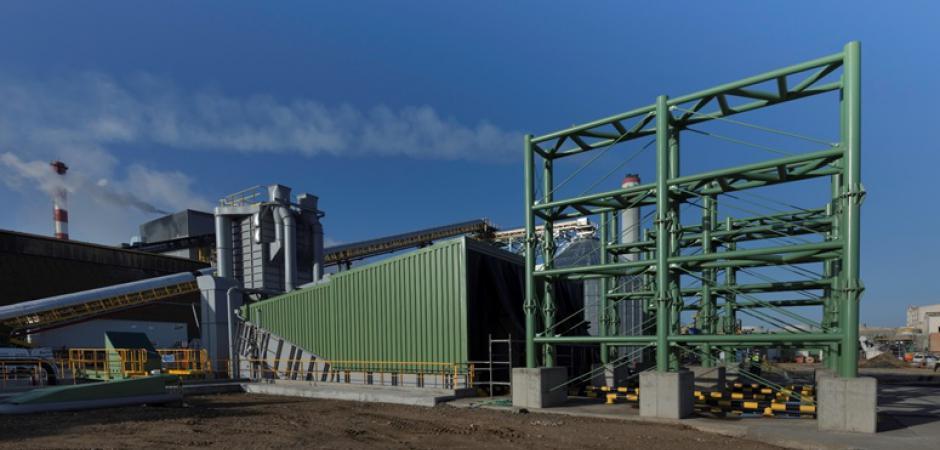 Sistemas de transporte del parque de biomasa para central térmica – Puertollano (2020)