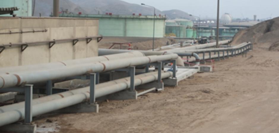 Interconexiones tanques de crudo y Sistema Contra Incendios, Proyecto RLP21 Refinería Repsol La Pampilla (Perú) – (2013)