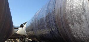 Reparación urgente 50 ml colector de antorcha DN 800 mm Lyon, Francia