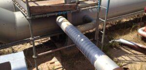 Reparación tuberías y equipos refinería de Sines, Portugal